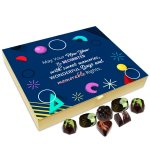 Chocholik New Year Chocolate Box – May Your New Year Be Decorated with Sweets and Memories Chocolate Box – 20pc