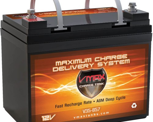 VMAXTANKS VMAX V35-857 12 Volt 35AH Deep Cycle Battery