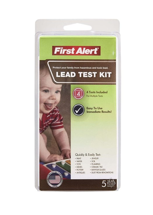 Com First Alert Lt1 Premium Lead Test Kit Brk Brands Home Improvement