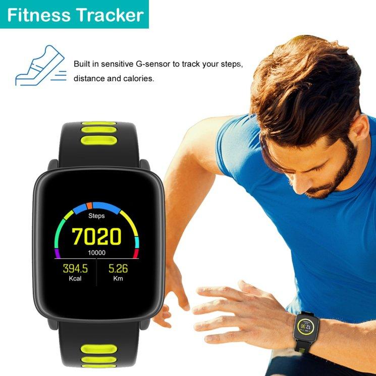 Sportlicher Fitnesstracker - Yamay Smartwatch SW018