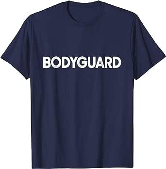 Amazon.com: Mens Bodyguard Job Uniform Costume Funny Gift ...