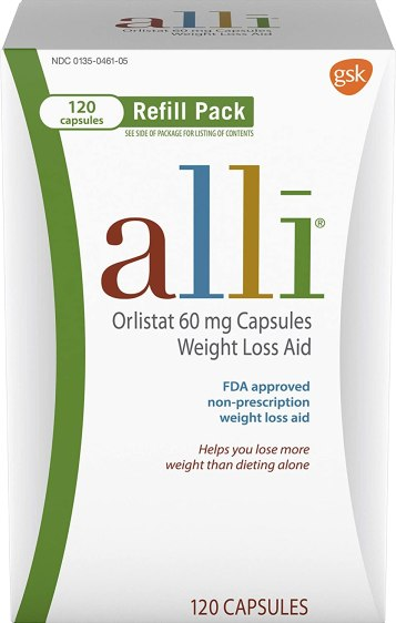 Alli Weight Loss Diet Pills, Best Dietary Supplements for Weight Loss