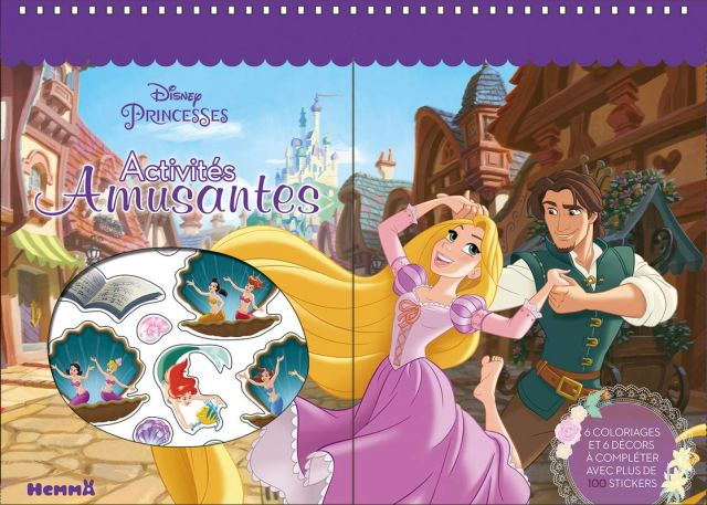 Disney Princesses Activités amusantes (French Edition): Collectif
