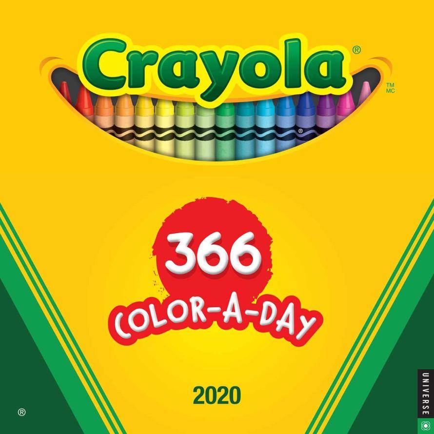 Crayola 2020 Wall Calendar: 366 Crayon Colors: Crayola: 9780789336477: Amazon.com: Books