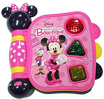 Disney Minnie Mouse Bow Tique My First Learning Book With Lights And Sounds Styles