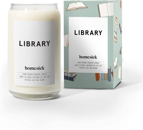 Library Candle