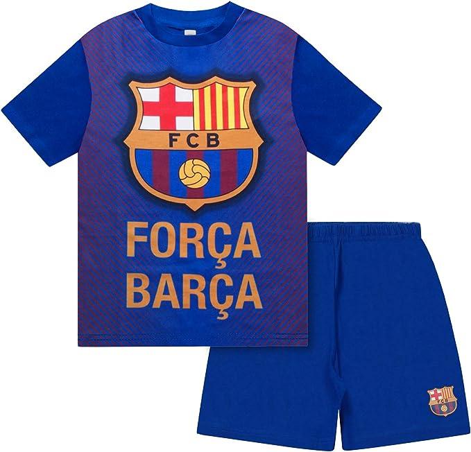 FC Barcelona - Pijama corto para niño
