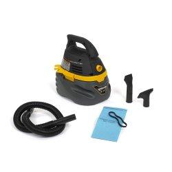 WORKSHOP Wet Dry Vac, Portable Wet Dry Vacuum Cleaner, 2.5-Gallon, WS0250VA Compact 1.75 Peak HP