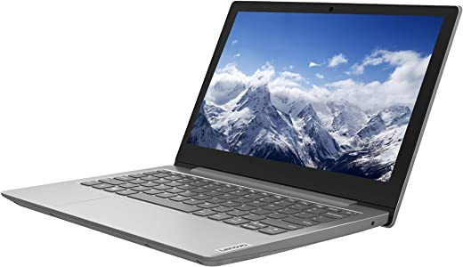 Lenovo IdeaPad Slim 1 11 Inch (11.6 Inch) HD Laptop - (AMD A4, 4GB RAM, 64GB eMMC, Windows 10 Home S Mode) - Platinum Grey