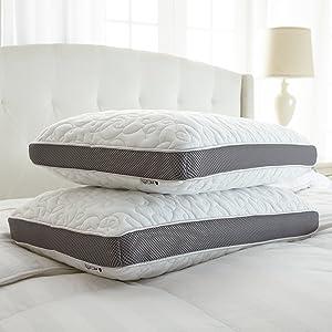 Perfect Cloud Double Airflow Memory Foam pillow size
