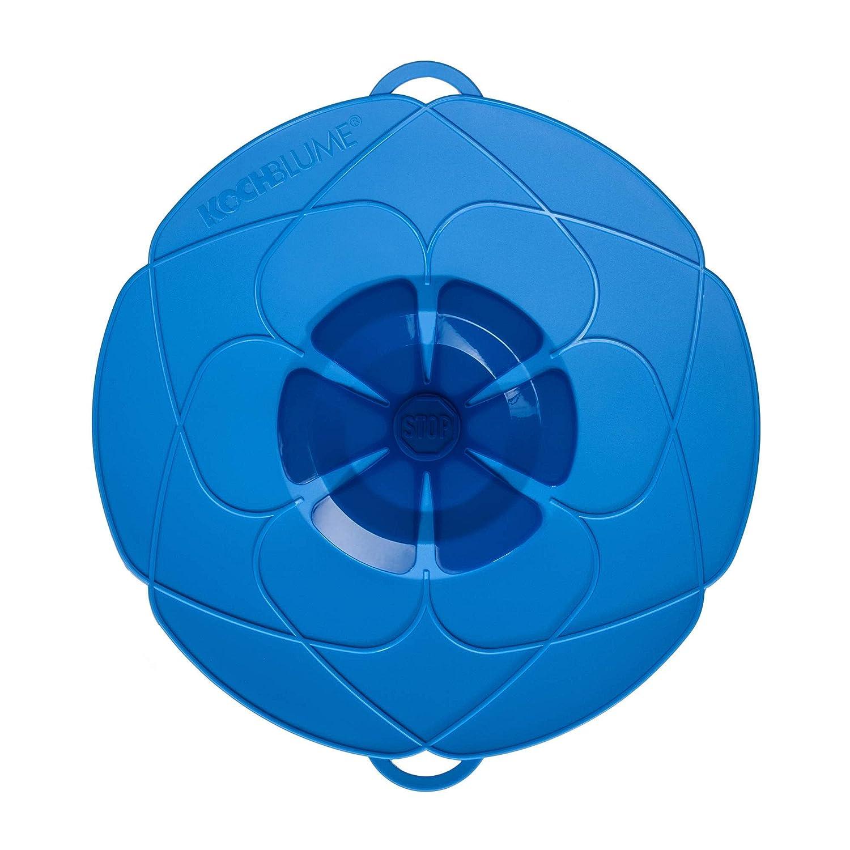 Kochblume vom Erfinder Armin Harecker L 29 cm blau