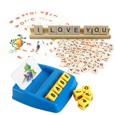 Spelling and memory educational toys