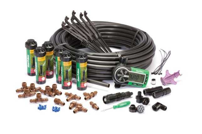 Rain Bird 32 ETI Easy to Install In-Ground Automatic Sprinkler System Kit