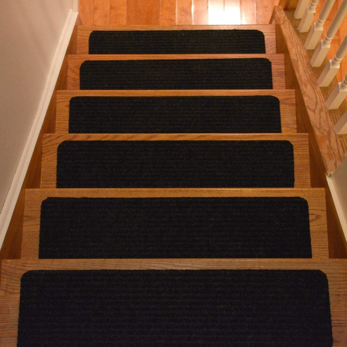 Amazon Com Rugstylesonline Stair Treads Collection Set Of 13 | Outdoor Rubber Stair Treads Home Depot | Riser | Coin Grip | Rubber Cal | Stair Mats | Recycled Rubber