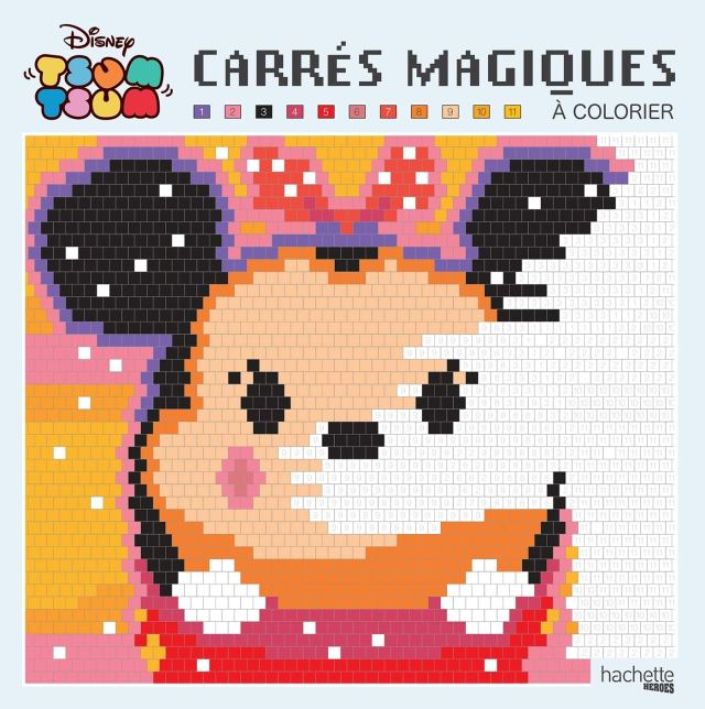 Grand Carré Magique Tsum Tsum (Heroes) (French Edition): Collectif