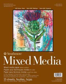 Strathmore 462-111 400 Series Mixed Media Pad
