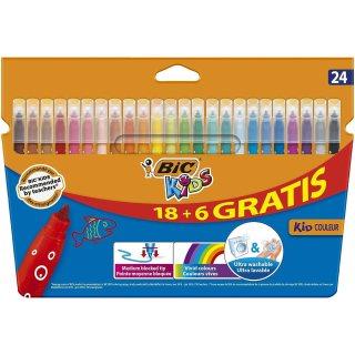 BIC Kids Kid Couleur rotuladores punta media - colores Surtidos