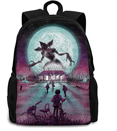 Amazon.com: Stranger The Things Fashionable And Durable For Men And Women  Backpack: Clothing