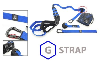 GYMSTUFF G-STRAP Suspension Body Fitness Trainer