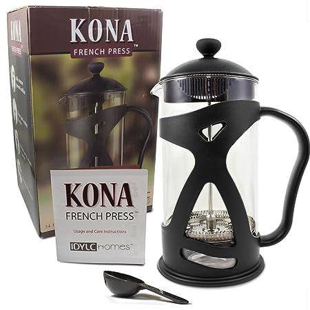 Idylc-Homes-KONA-French-Press-Coffee-Maker-Reviews