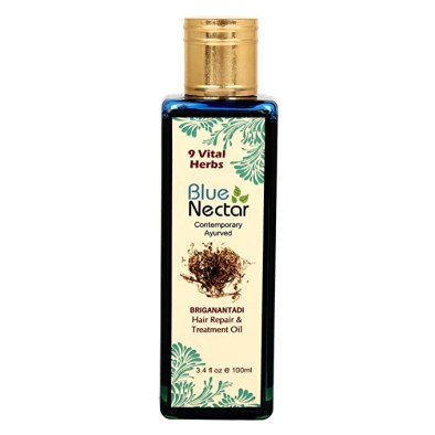Blue Nectar Ayurvedic Hair Repair And Treatment Oil- 100Ml