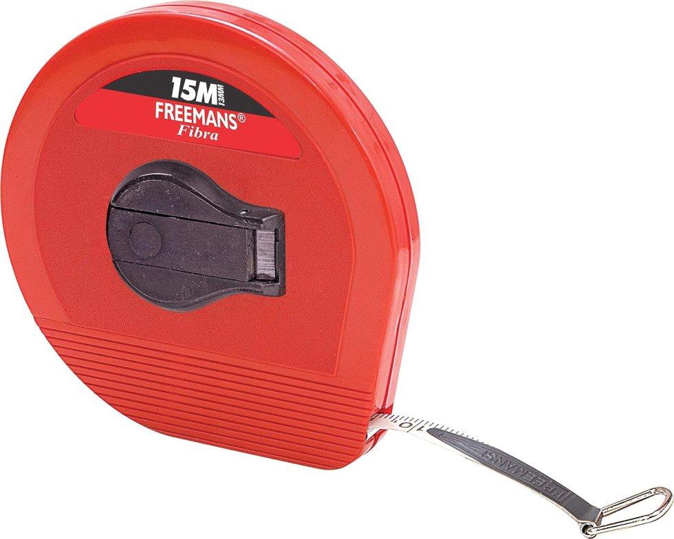 FREEMANS Fibra 15 m:13 mm Fibre glass Measuring Tap