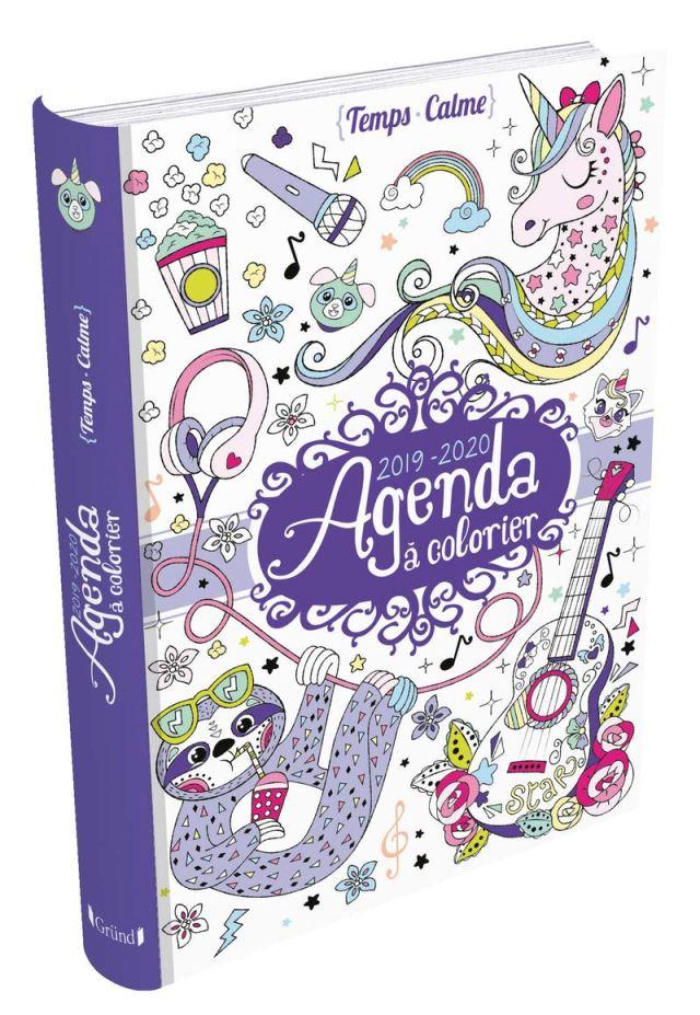 Agenda à colorier 8-8 : VARONE, Eugenie: Amazon.fr: Livres