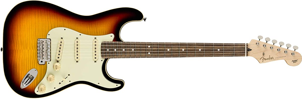 AERODYNE CLASSIC STRATOCASTER FLAME MAPLE TOP