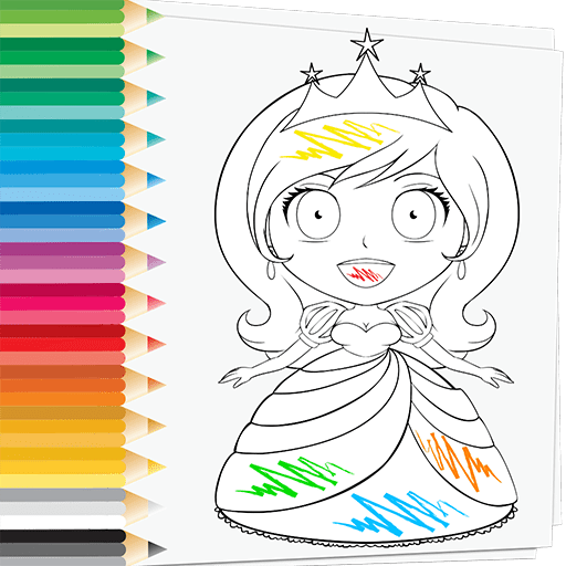 Amazon Com Prince Princess Coloring Book Love Beautiful Princesses Enjoy Drawing And Painting Free Princess Coloring Pages Game Appstore For Android