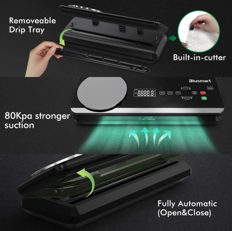 Blusmart 80Kpa Vacuum Sealer