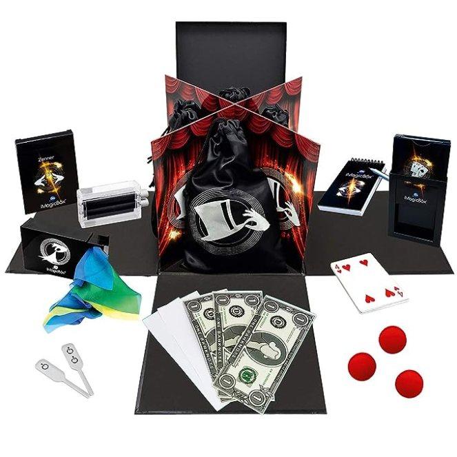 Simba - 606321758002 - iMagicBox - Boîte de Magie - 4 Univers - Cartes - Close Up - Scène - Mentalisme - Application Mobile - + de 150 Vidéos Démo