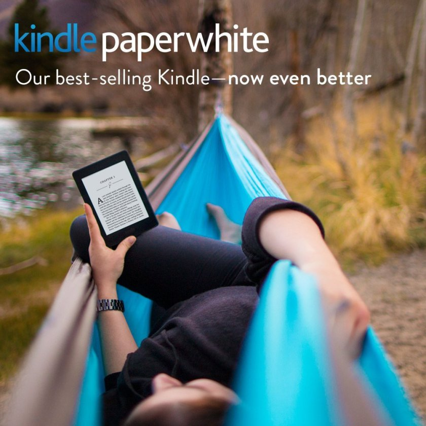 """Kindle Paperwhite, 6"""" High-Resolution Display (300 ppi) with Built-in Light, Wi-Fi"""