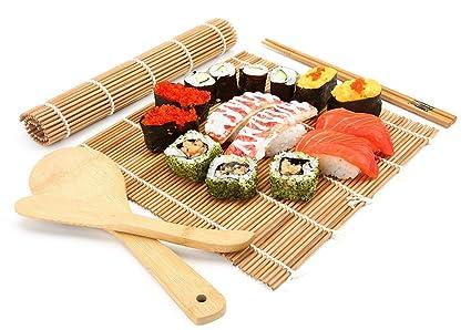 bamboo sushi making kit