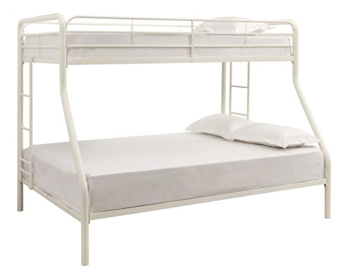 White Metal Bunk Beds For Everyone Top Bunk Beds Reviews
