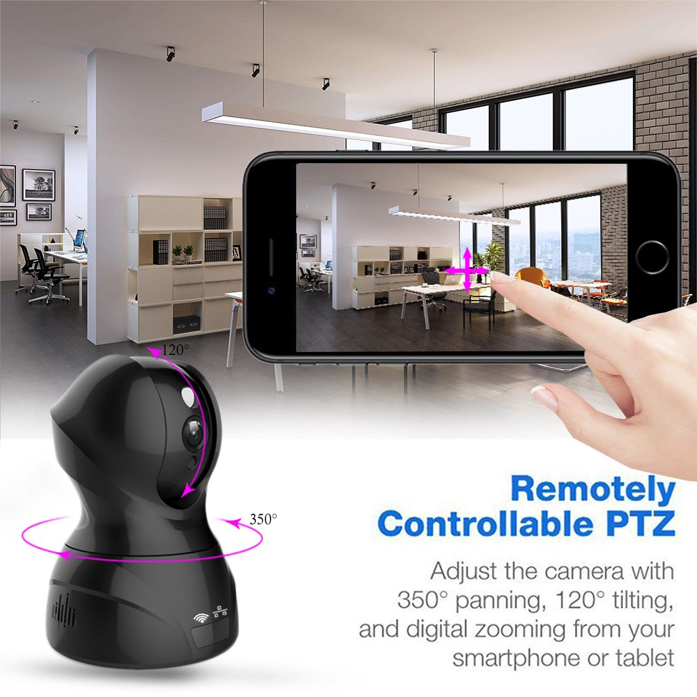 Remote Control - CHAOBEITE WLAN IP Kamera Full-HD