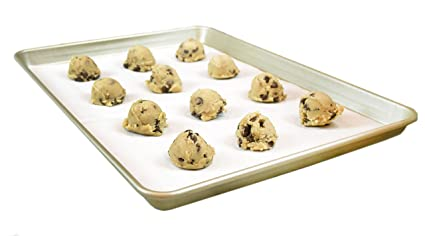 The Smart Baker Half Sheet 13 x 18 inches Perfect Parchment Paper - Pre-Cut Parchment Paper Baking Sheets