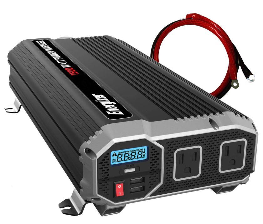 Energizer 1500 Watt 12V Power Inverter