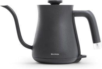 Amazon   バルミューダ 電気ケトル BALMUDA The Pot K02A-BK(ブラック ...