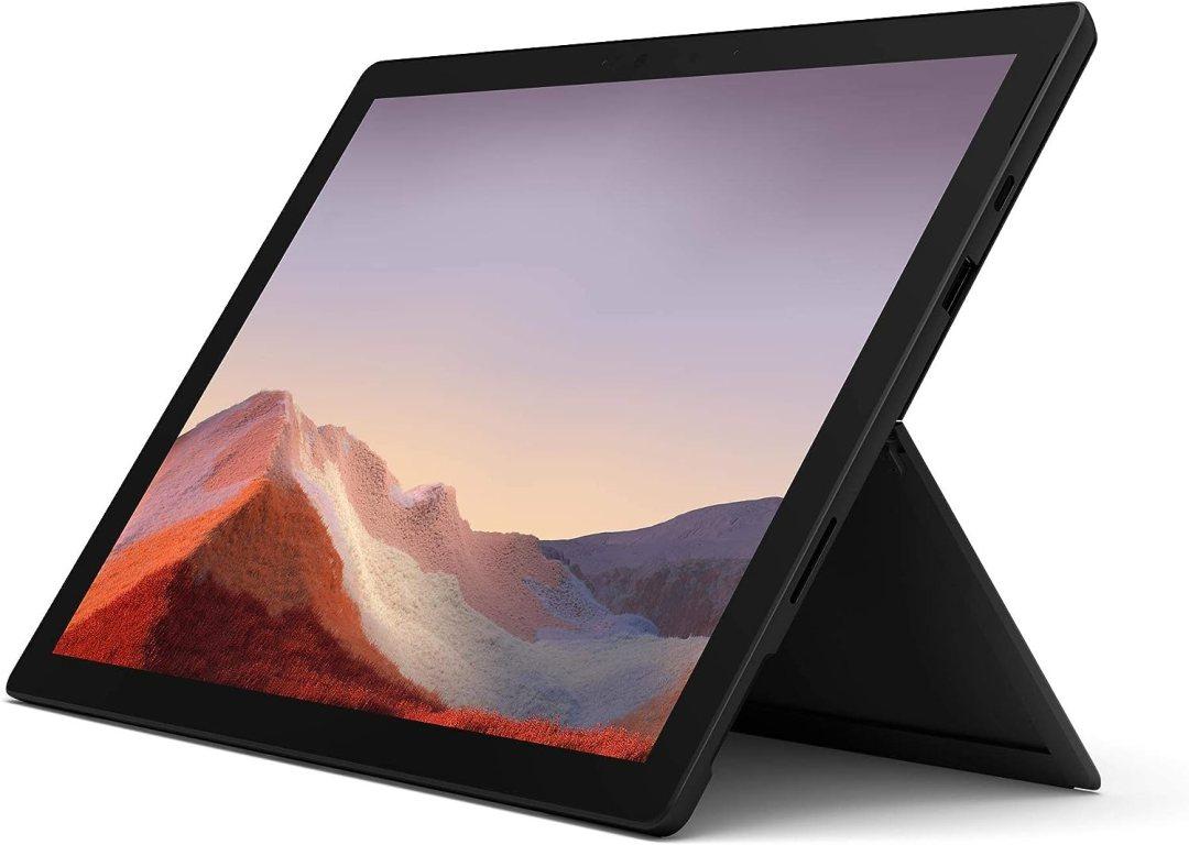 Surface Pro 7 PC Hybride Microsoft 12.3 Noir (Intel Core i7, 16 Go de RAM, 256 Go de SSD)