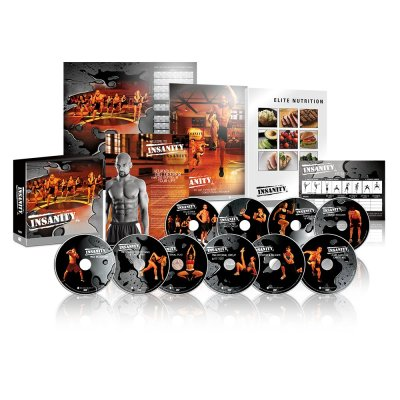 INSANITY Base Kit - DVD Workout Set