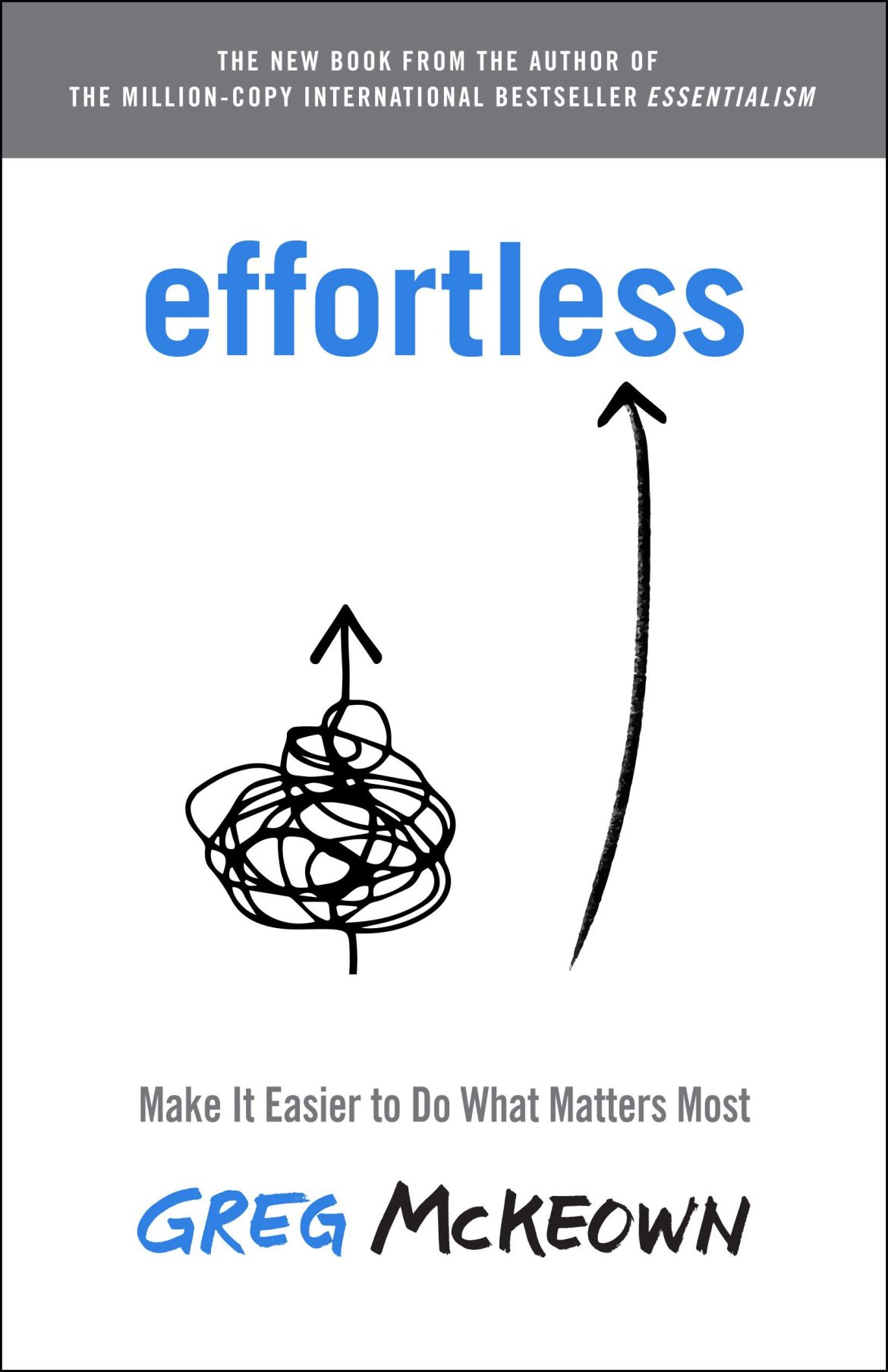 Effortless: Make It Easier to Do What Matters Most: McKeown, Greg:  9780593135648: Amazon.com: Books