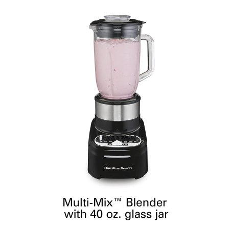 hamilton beach 54210 blender with 40 oz glass jar review