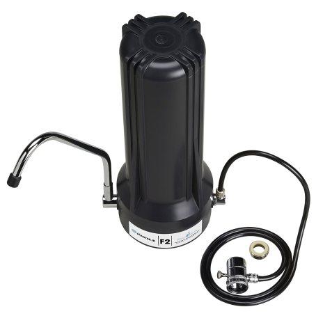 Home Master TMJRF2-BK Jr F2 Sinktop Water Filtration System, Black