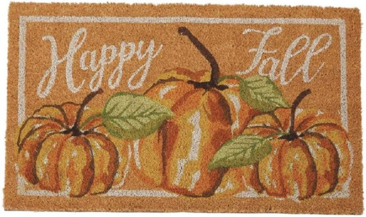 Pumpkin Fall Doormat - Useful Things to Buy on Amazon