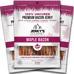 Last Minute Valentine's Day Prime Eligible Gifts - Maple Bacon Jerky