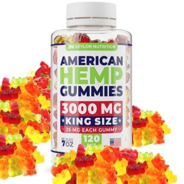 Our favorite hemp oil gummies from Keylor Nutrition