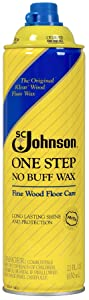 S C JOHNSON WAX 00125 Johnson Wood Wax, 22-Ounce