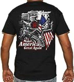 Biker Life USA Trump's Bitch Fell Off T-Shirt