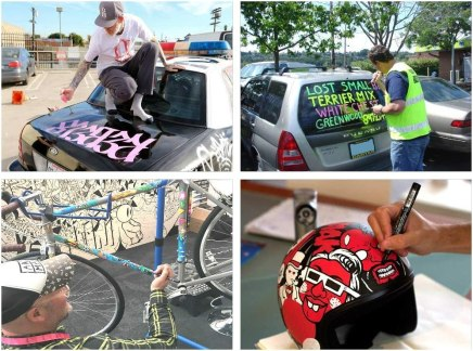 Car Paint Marker Pens Auto Writer White