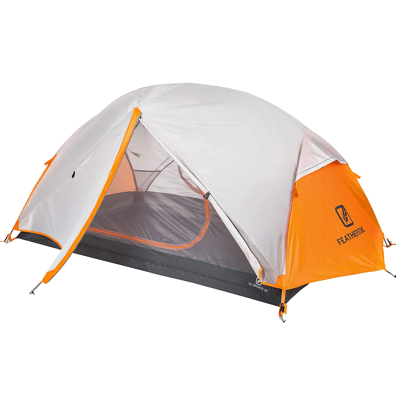 Featherstone Outdoor UL Granite Backpacking 2 Person Tent for Ultralight 3 Season Camping